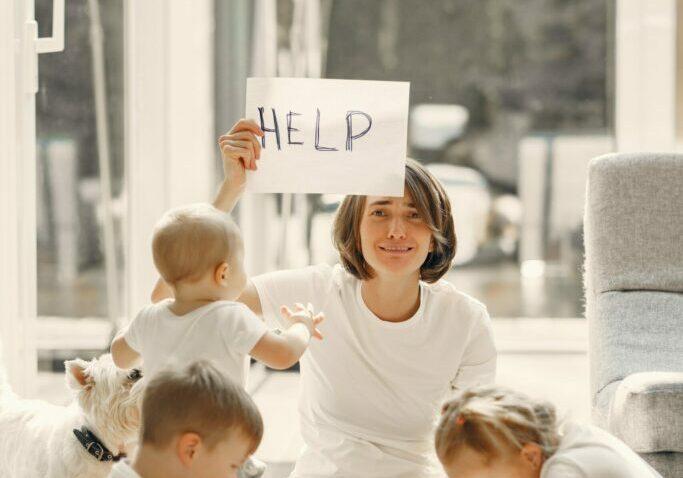 Help - drie kinderen